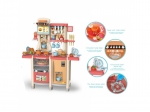 Bucatarie multifunctionala pentru copii Alibibi, sunete si lumini cu 65 de accesorii si telefon incluse