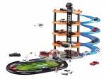 Set garaj masinute Alibibi pe 4 nivele cu lift si 4 masinute si 1 elicopter City Parking