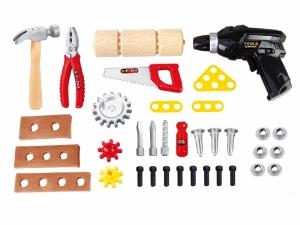 Banc de lucru AliBibi cu unelte si accesorii electrice