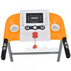 Banda de alergat electrica FitTronic L300 white-orange