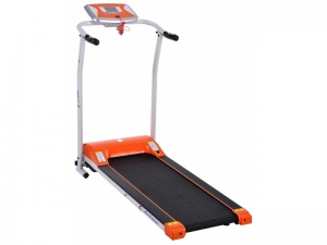 Banda de alergat electrica FitTronic T1000 silver-orange