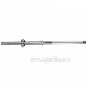 Bara haltera dreapta inSPORTline RB-47T 120cm/30mm