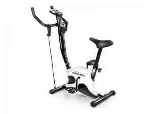 Bicicleta fitness mecanica, cu corzi