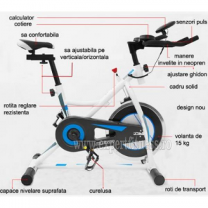 Bicicleta indoor cycling Scud GT-705