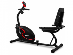 Bicicleta Magnetica Recumbent SCUD Swift H3- Negru