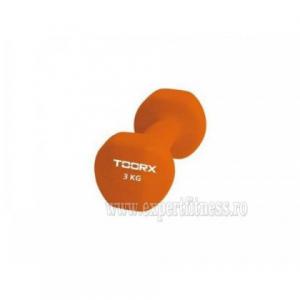 Gantera Neopren TOORX 3 kg Oranj