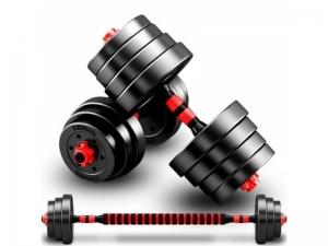 Set gantere reglabile BodyFit 20 kg