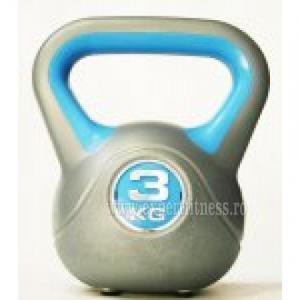 Gantera Vin Bell 3kg inSPORTline