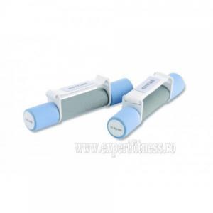 Greutate aerobic 2 X 0,5 KG albastru / gri