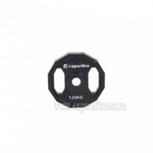 Greutate cauciucata 1.25kg/31mm inSPORTline Ruberton