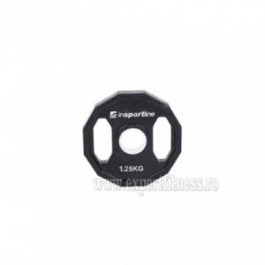 Greutate cauciucata 1.25kg/51mm inSPORTline Ruberton
