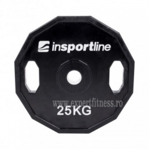 Greutate cauciucata 20kg/51mm inSPORTline Ruberton
