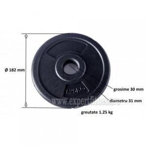 Greutate PVC 1.25kg/27mm Sportmann