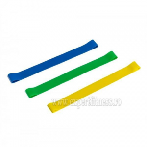 Set 3 Benzi elastice pentru rezistenta muscular
