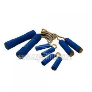Set corda de sarit, flexori si 2 gantere 0.5 kg