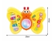 Intrument muzical in forma de fluture AliBibi pentru copii, tip pian cu sunete si lumini