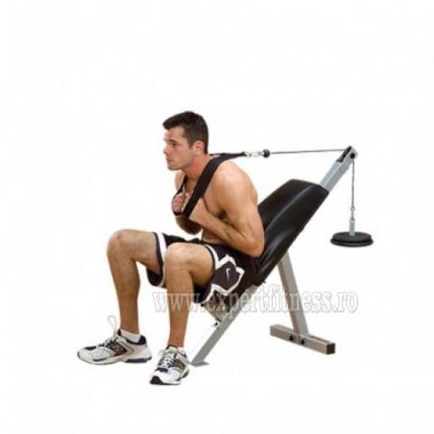 Banca abdomene Body Solid Powerline