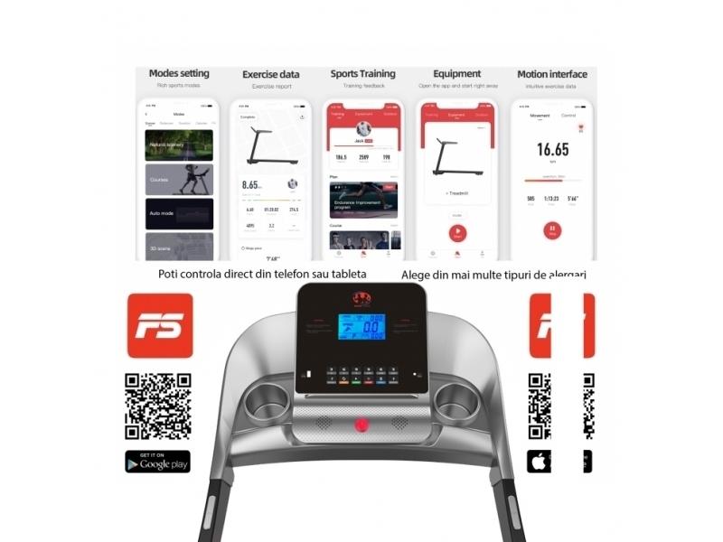 Banda de alergat electrica  BodyFit A2000