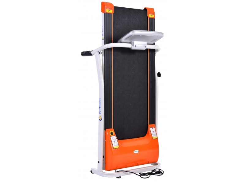 Banda de alergat electrica FitTronic T1000 silver-orange