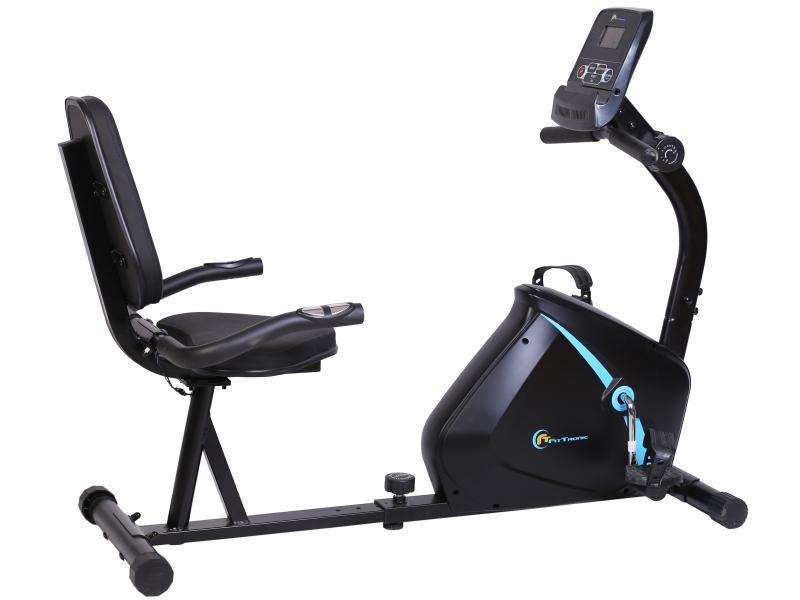 Bicicleta magnetica orizontala FitTronic 510R