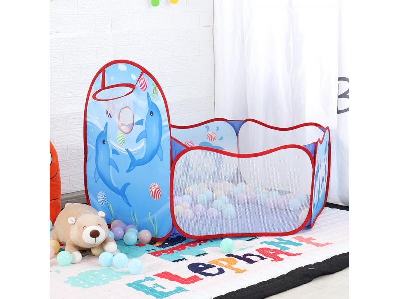 Cort tarc pentru copii Alibibi cu  mini cos de baschet