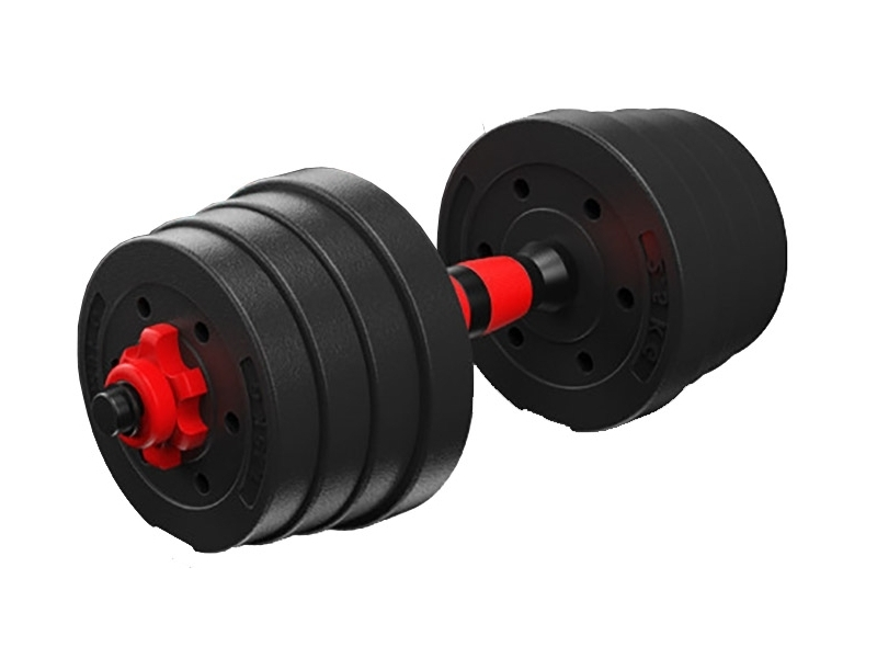 Gantera reglabila BodyFit 15 kg