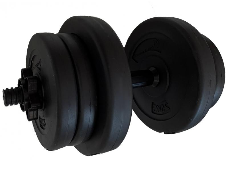 Gantera reglabila FitTronic 10 kg