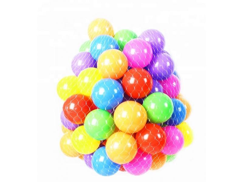 Set 100 bile pentru piscina colorate AliBibi