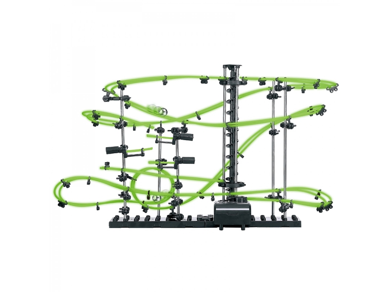 Space Roller Coaster Alibibi cu Bile fosforescente